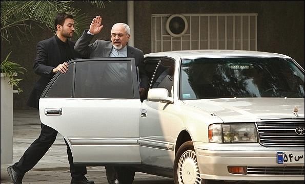 عکس خودرو ماشین اتومبیل محمد جواد ظریف
